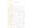 Letter: Patt Hanly to Geo. R. Magrath February 26 1841